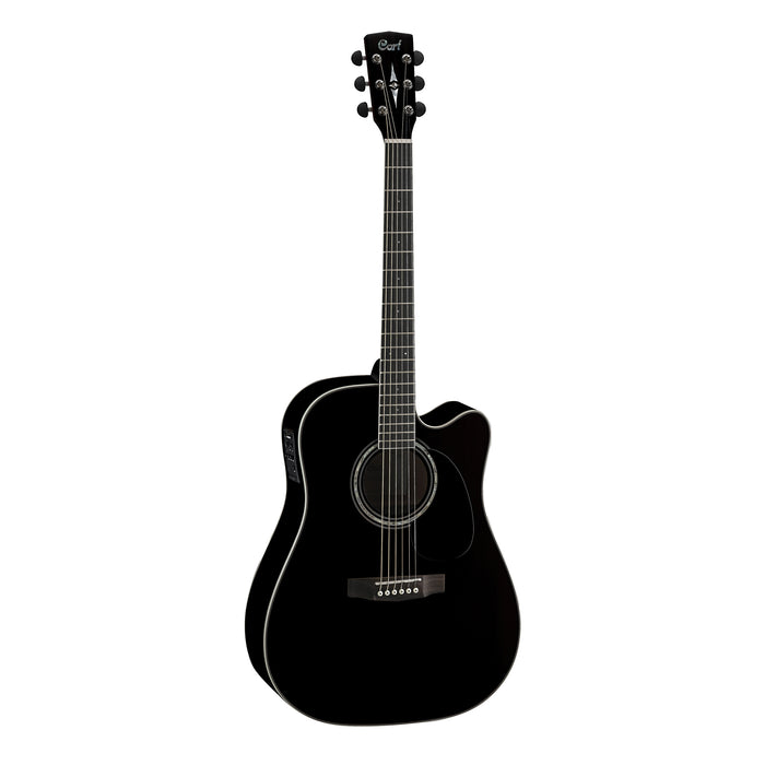 Cort MR710F BLK Acoustic/Electric Guitar - Black