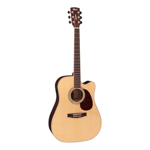 Cort MR710F Acoustic/Electric Guitar - Natural Satin with Case