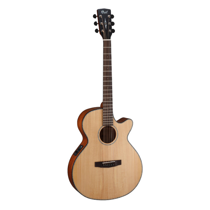 Cort SFX-E NS Slim Body Acoustic/Electric Guitar - Natural Satin