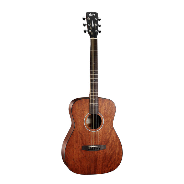 Cort AF510ME OP Acoustic/Electric Guitar - Open Pore