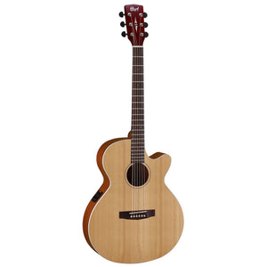 Cort SFX1F NS Slim Body Acoustic/Electric Guitar - Natural Satin - Downtown Music Sydney