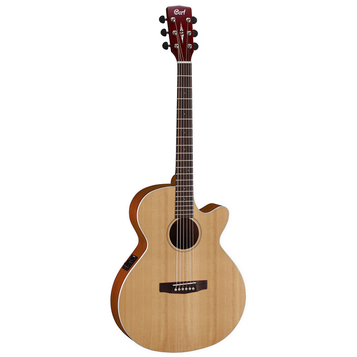 Cort SFX1F NS Slim Body Acoustic/Electric Guitar - Natural Satin