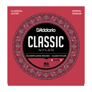 D'Addario EJ27N Normal Tension Classical Nylon Strings - Downtown Music Sydney