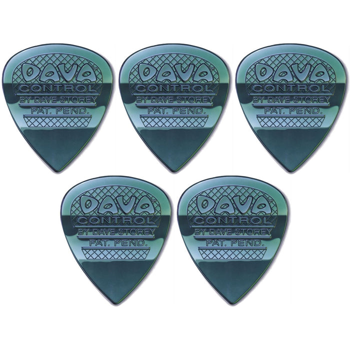 Dava Multi-Gauge Control Pick Nylon 5 Pack
