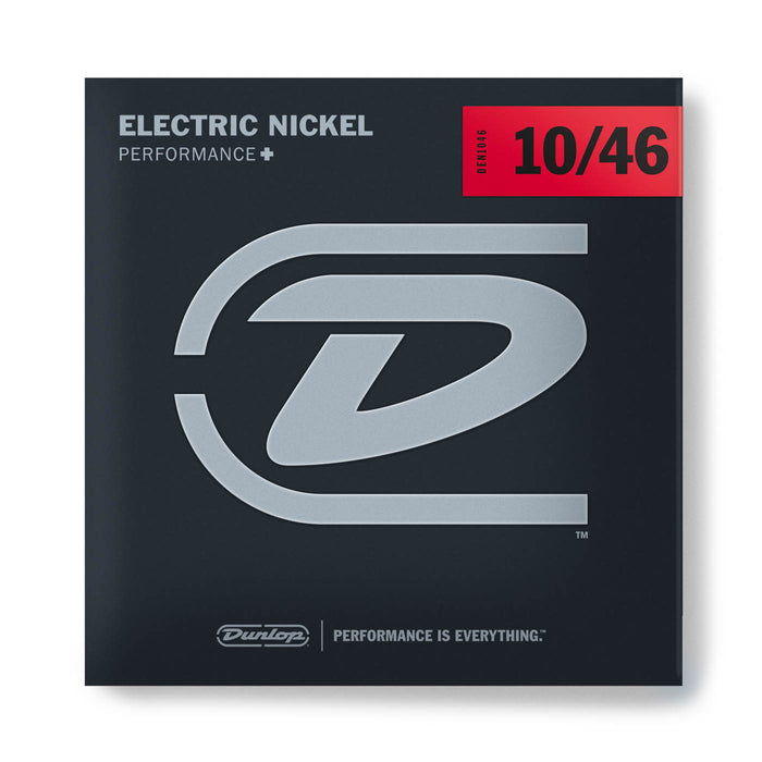 Dunlop DEN1046 Light Nickel Wound Electric Guitar Strings (10-46)