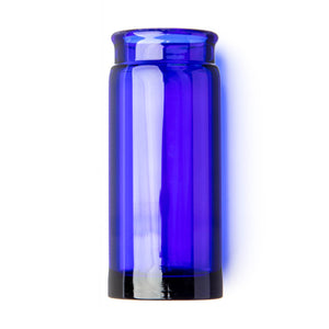 Dunlop 278 Blues Bottle Glass Guitar Slide - Large Diameter / Regular Wall / Blue - Downtown Music Sydney