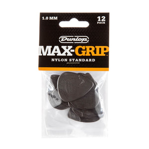 Dunlop Max Grip Standard Picks 12 Pack - 1.0mm - Downtown Music Sydney
