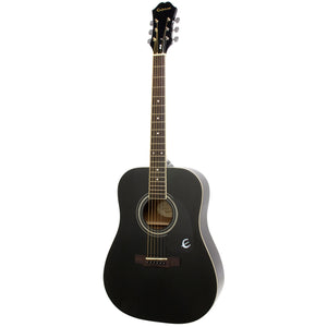 Epiphone DR-100 Acoustic Guitar - Ebony - Downtown Music Sydney