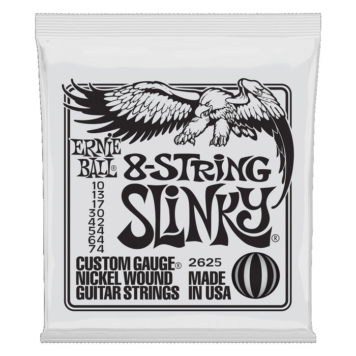 Ernie Ball 8-String Slinky Electric Guitar Strings (10-74)