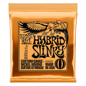 Ernie Ball Hybrid Slinky Electric Guitar Strings (9-46) - Downtown Music Sydney
