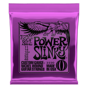 Ernie Ball Power Slinky Electric Guitar Strings (11-48) - Downtown Music Sydney