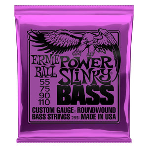 Ernie Ball Power Slinky Bass Strings (55-110) - Downtown Music Sydney