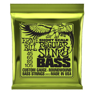 Ernie Ball Regular Slinky Short Scale Bass Strings (45-105) - Downtown Music Sydney
