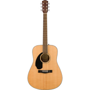 Fender CD-60S Left Handed Acoustic Guitar - Natural