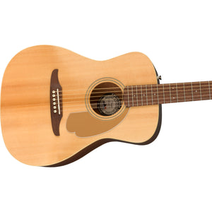 Fender Malibu Player Acoustic/Electric Guitar - Natural