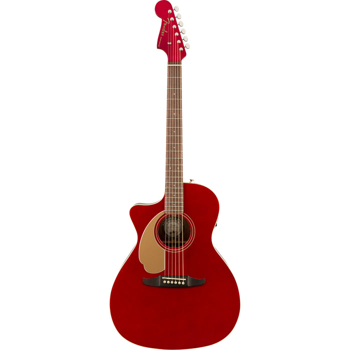 Fender Newporter Player Left Handed Acoustic/Electric - Candy Apple Red