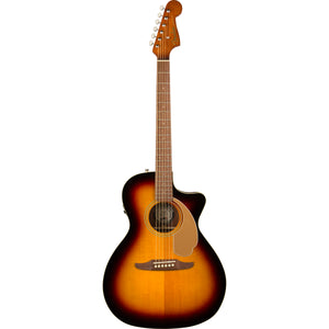 Fender Newporter Player Acoustic/Electric Guitar - Sunburst