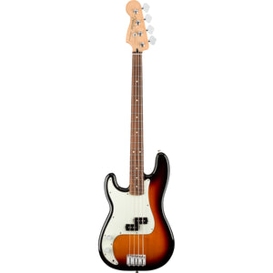 Fender Player Precision Bass Left Handed - 3-Colour Sunburst, Pau Ferro Fingerboard