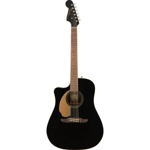 Fender Redondo Player Left Handed Acoustic/Electric - Jetty Black