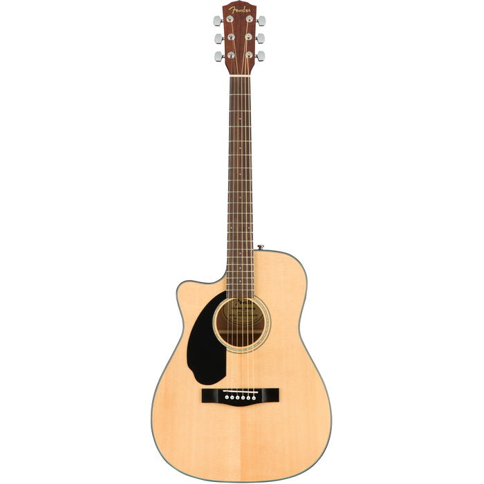 Fender CC-60SCE Left Handed Acoustic/Electric Guitar - Natural