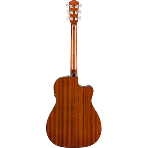 Fender CC-60SCE Left Handed Acoustic/Electric Guitar - Natural - Downtown Music Sydney