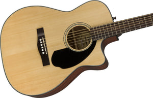 Fender CC-60SCE Acoustic/Electric Guitar - Natural - Downtown Music Sydney