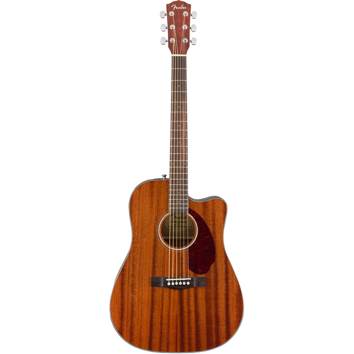 Fender CD-140SCE All Mahogany Acoustic/Electric Guitar with Case