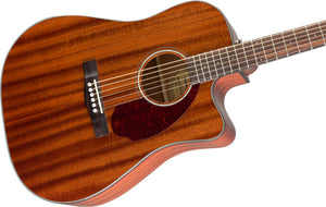 Fender CD-140SCE All Mahogany Acoustic/Electric Guitar with Case - Downtown Music Sydney