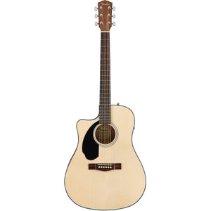 Fender CD-60SCE Left Handed Acoustic/Electric Guitar - Natural - Downtown Music Sydney