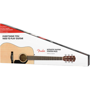 Fender CD-60S Dreadnought Acoustic Guitar Pack - Downtown Music Sydney