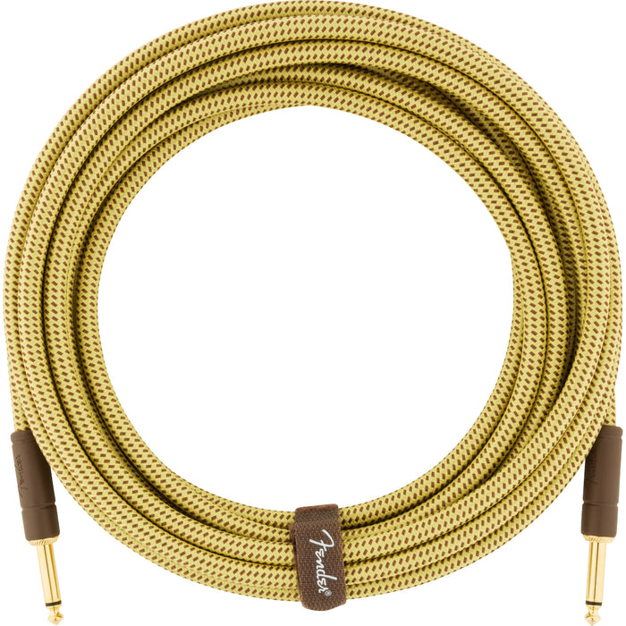 Fender Deluxe Series Instrument Cable Straight-Straight - 18.6ft Tweed