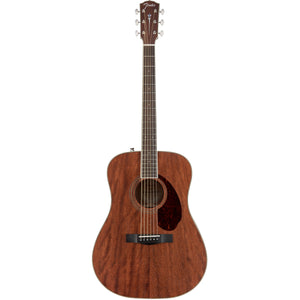 Fender Paramount PM-1 Standard Dreadnought All Mahogany NE Acoustic Guitar with Case - Downtown Music Sydney