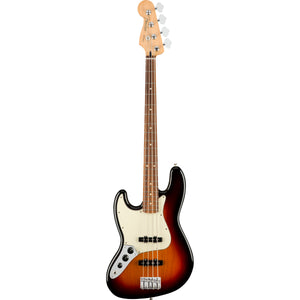 Fender Player Jazz Bass Left Handed - 3-Colour Sunburst - Downtown Music Sydney