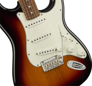 Fender Player Stratocaster - 3-Colour Sunburst, Pau Ferro Fingerboard - Downtown Music Sydney