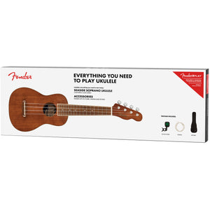 Fender Seaside Soprano Ukulele Pack - Downtown Music Sydney