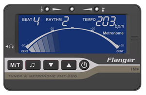 Flanger FMT-206RC Metro-Tuner Chromatic Tuner & Metronome - Downtown Music Sydney