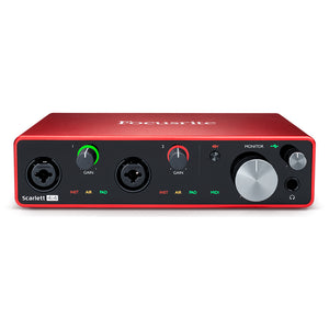 Focusrite Scarlett 4i4 Gen 3 USB Audio Interface