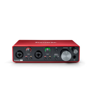 Focusrite Scarlett 2i2 Gen 3 USB Audio Interface - Downtown Music Sydney