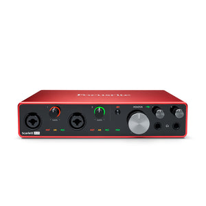 Focusrite Scarlett 8i6 Gen 3 USB Audio Interface - Downtown Music Sydney
