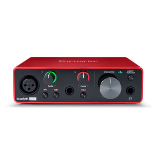 Focusrite Scarlett Solo Gen 3 USB Audio Interface - Downtown Music Sydney