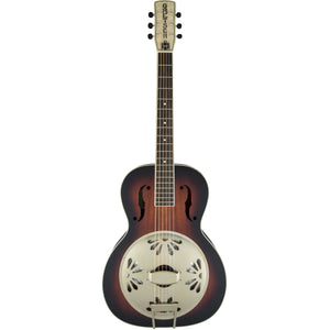 Gretsch G9241 Alligator Biscuit Round-Neck Acoustic Electric Resonator Guitar