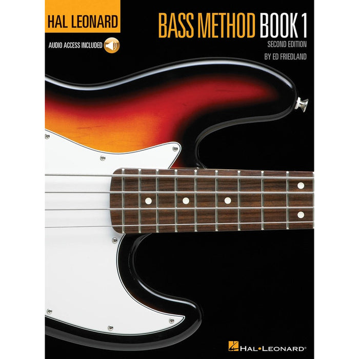 Hal Leonard Bass Method - Book 1, 2nd Edition