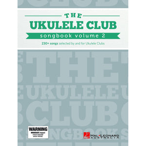 Hal Leonard The Ukulele Club Songbook Volume 2 - Downtown Music Sydney