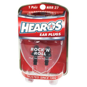 Hearos Rock 'N Roll Series Ear Plugs + Case
