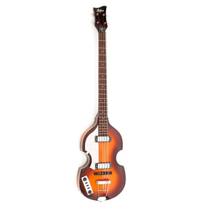 Hofner Ignition Violin Bass Left Handed with Case - Sunburst - Downtown Music Sydney