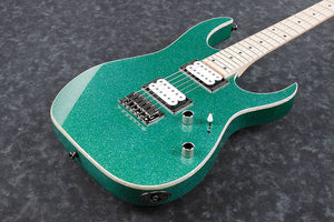 Ibanez RG421MSP TSP Electric Guitar - Turquoise Sparkle