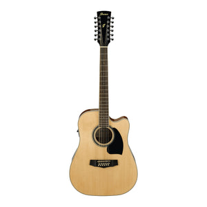 Ibanez PF1512ECE NT 12-String Acoustic/Electric Guitar - Downtown Music Sydney