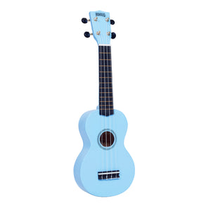 Mahalo MR1LBU Rainbow Series Soprano Ukulele with Carry Bag - Light Blue - Downtown Music Sydney