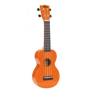 Mahalo MR1OR Rainbow Series Soprano Ukulele with Carry Bag - Orange