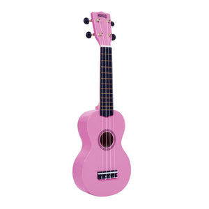 Mahalo MR1PK Rainbow Series Soprano Ukulele with Carry Bag - Pink - Downtown Music Sydney